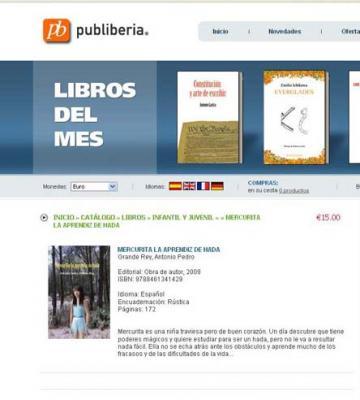 Mi libro en venta